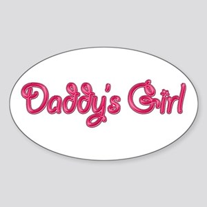 Daddy's Girl Bling Sticker