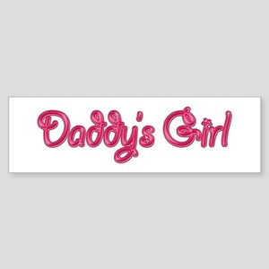 Daddy's Girl Bling Bumper Sticker
