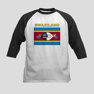 Swaziland Kids Baseball Jersey