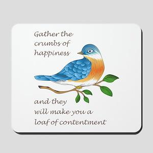 CRUMBS OF HAPPINESS Mousepad