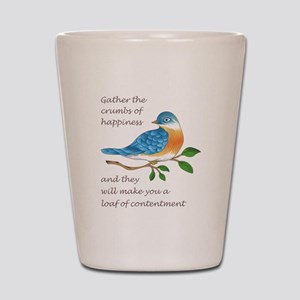 CRUMBS OF HAPPINESS Shot Glass