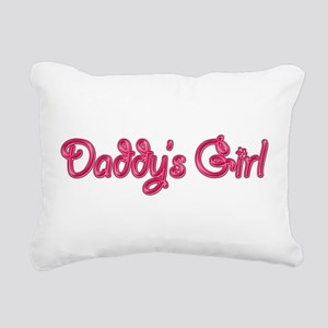 Daddy's Girl Bling Rectangular Canvas Pillow