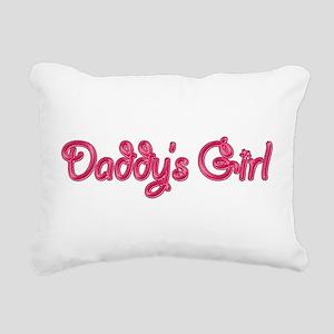 Daddy's Girl Bling Rectangular Canvas Pillow