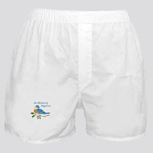BLUEBIRD OF HAPPINESS Boxer Shorts