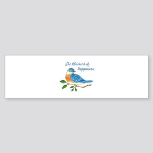 BLUEBIRD OF HAPPINESS Bumper Sticker