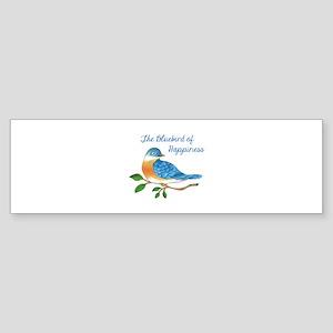 BLUEBIRD OF HAPPINESS Bumper Sticker