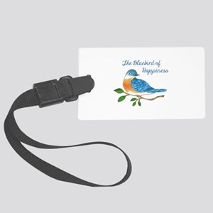 BLUEBIRD OF HAPPINESS Luggage Tag