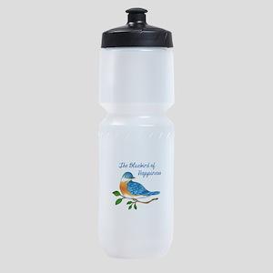 BLUEBIRD OF HAPPINESS Sports Bottle