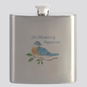 BLUEBIRD OF HAPPINESS Flask