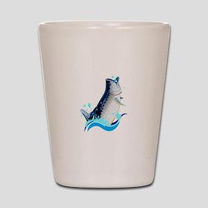 TARPON FISH Shot Glass
