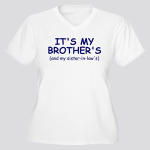 My Brother's Baby Women's Plus Size V-Neck T-Shirt