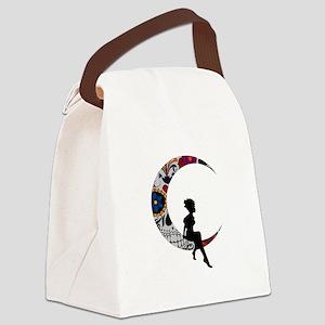 SUGAR LADY Canvas Lunch Bag