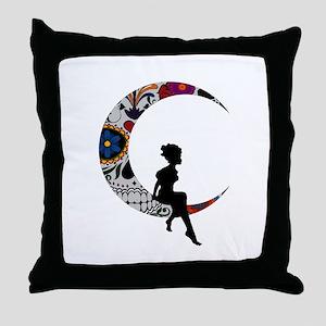 SUGAR LADY Throw Pillow