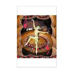 Lady Luck, casino gaming montage Poster Print (Min