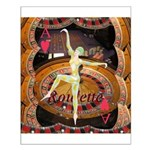 Lady Luck, casino gaming montage Poster Design