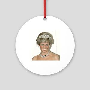 Stunning! HRH Princess Diana Ornament (Round)