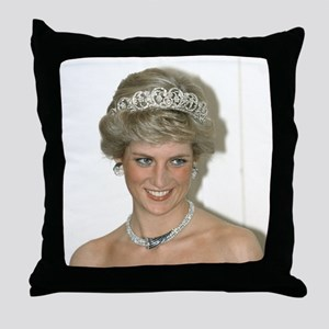 Stunning! HRH Princess Diana Throw Pillow