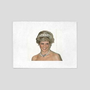 Stunning! HRH Princess Diana 5'x7'Area Rug
