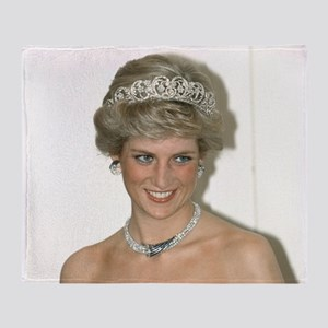 Stunning! HRH Princess Diana Throw Blanket
