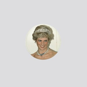 Stunning! HRH Princess Diana Mini Button