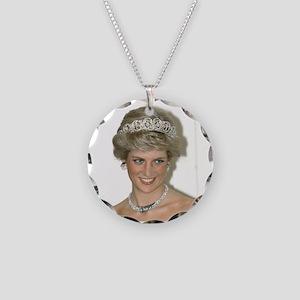 Stunning! HRH Princess Diana Necklace Circle Charm