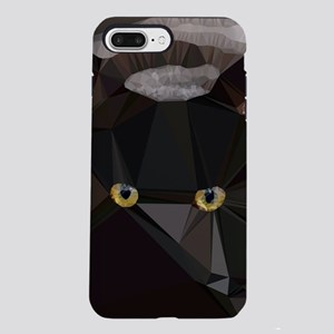 Cat Yellow Eyes Low Poly Triangles iPhone 7 Plus T