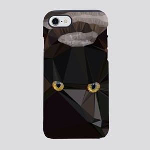 Cat Yellow Eyes Low Poly Triangles iPhone 7 Tough