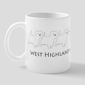 Westie Line Mug