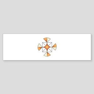 QUILT PATTERN Bumper Sticker