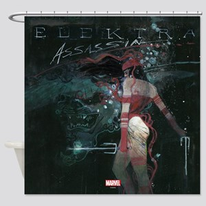 Elektra Assassin Shower Curtain