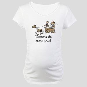 Wedding Carriage Maternity T-Shirt