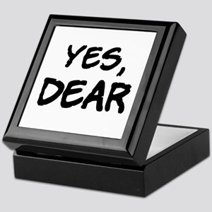 Yes, Dear Keepsake Box