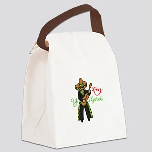 YO HEART MARIACHI Canvas Lunch Bag
