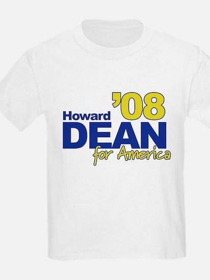 HOWARD DEAN FOR AMERICA '08 Kids T-Shirt