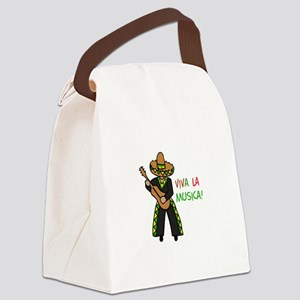 VIVA LA MUSICA Canvas Lunch Bag