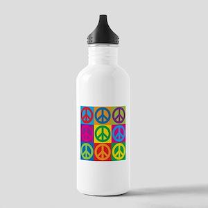 Pop Art Peace Stainless Water Bottle 1.0L
