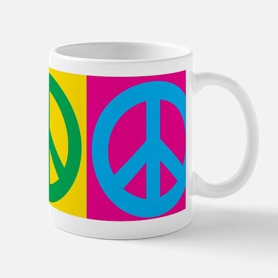 Pop Art Peace Mugs