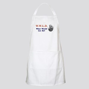What would LEE Do BBQ Apron