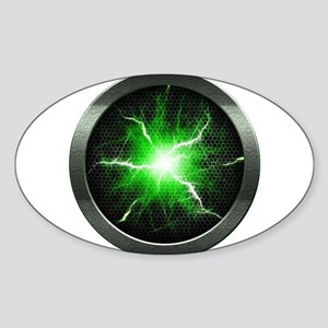 Borg Regeneration Disc Oval Sticker