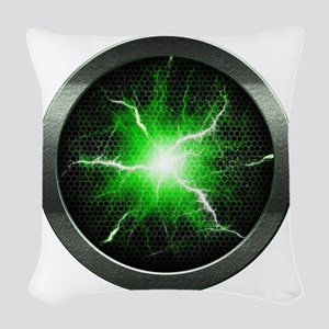 Borg Regeneration Disc Woven Throw Pillow