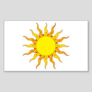 Grunge Sun Sticker