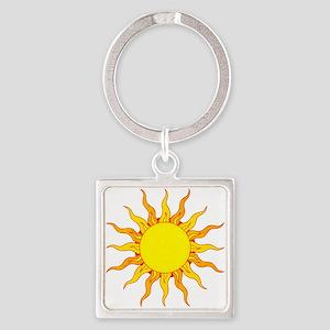 Grunge Sun Keychains