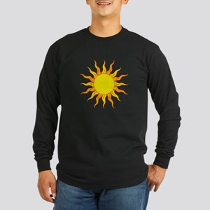 Grunge Sun Long Sleeve T-Shirt