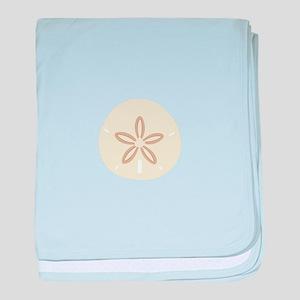 SAND DOLLAR baby blanket