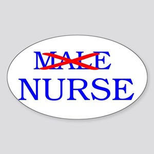 Just NURSE....Thanks. Oval Sticker