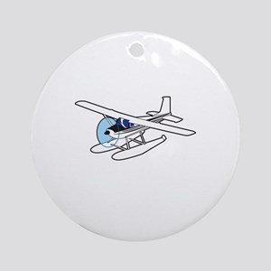 BUSH AIRPLANE Ornament (Round)