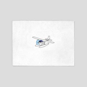 BUSH AIRPLANE 5'x7'Area Rug