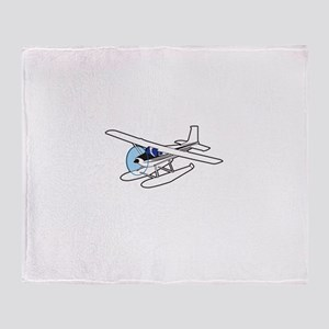 BUSH AIRPLANE Throw Blanket