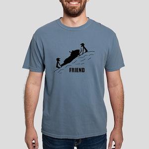 Friend / Best Friend Front Black T-Shirt