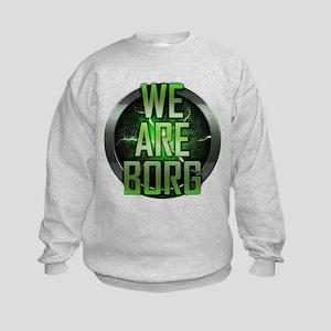 We Are Borg Kids Sweatshirt